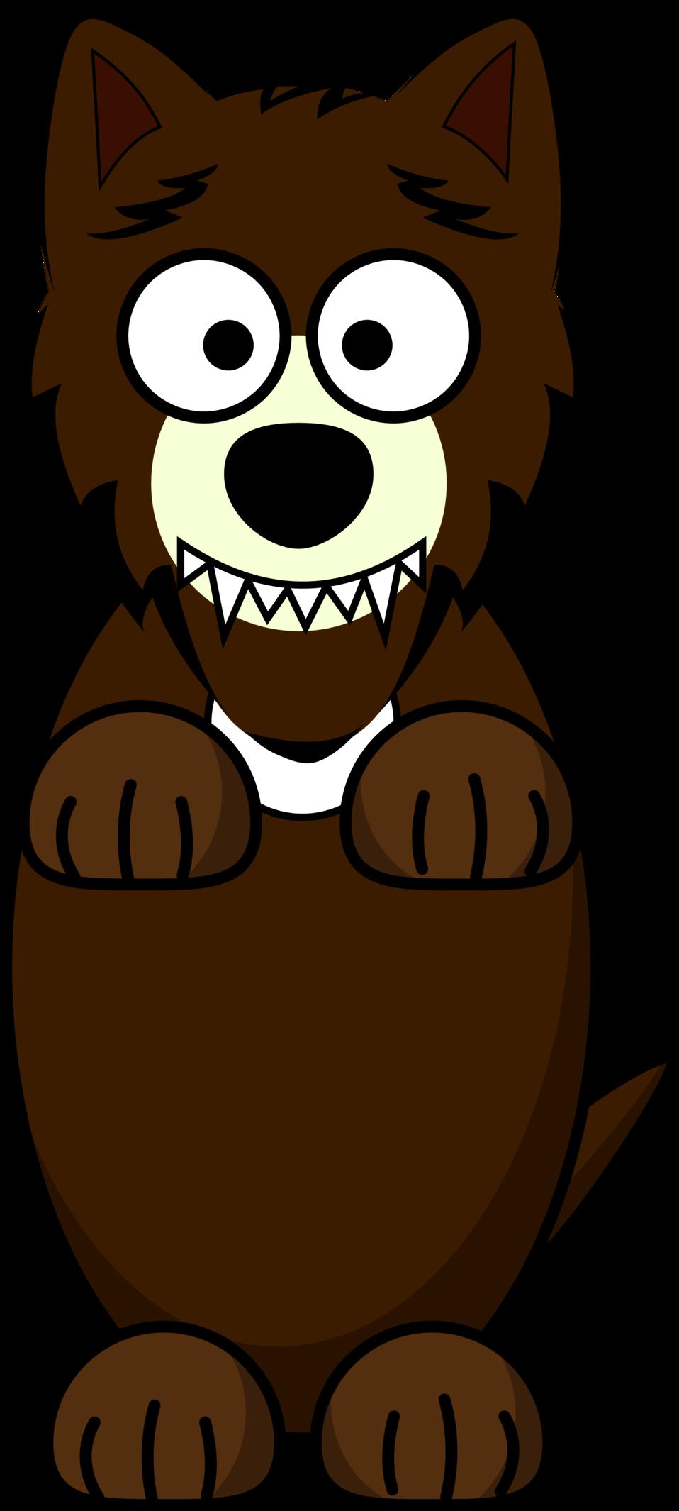 Public domain clip art. Clipart bear wolf