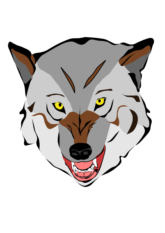 Head at getdrawings com. Clipart bear wolf