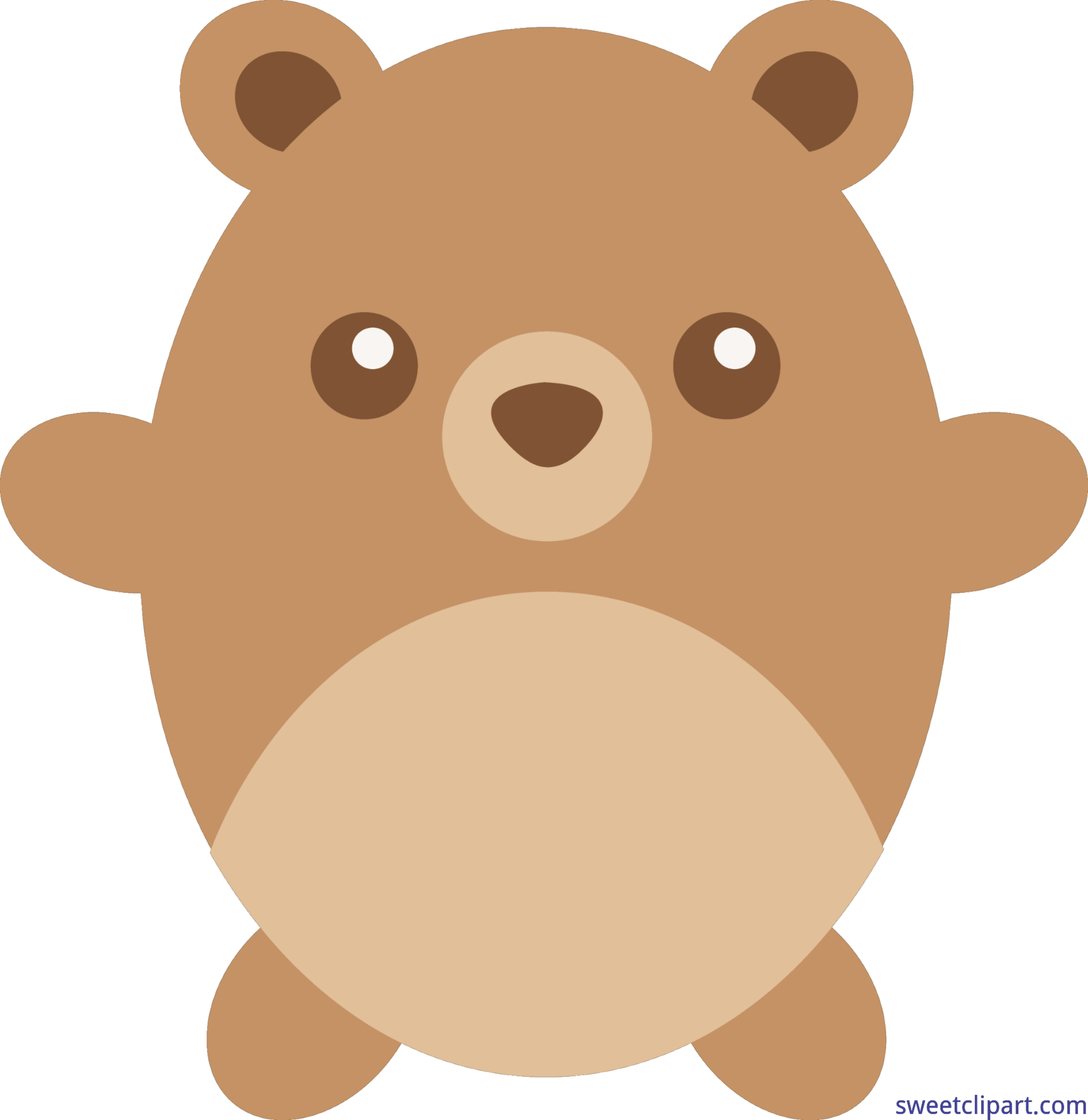 House clipart bear. Teddy round brown clip