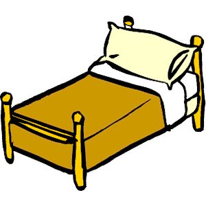 Furniture clipart small bed. Clip art free panda