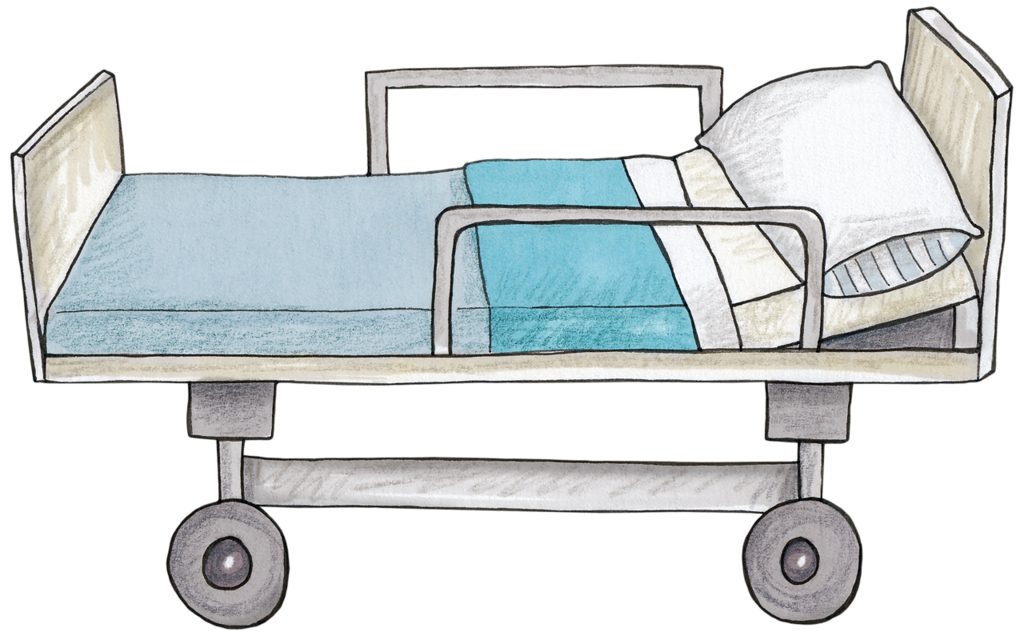 Khadfield doctordoctor hospitalbed png. Patient clipart hospital bed
