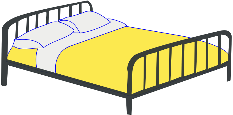 The first task you. Clipart bed afternoon nap
