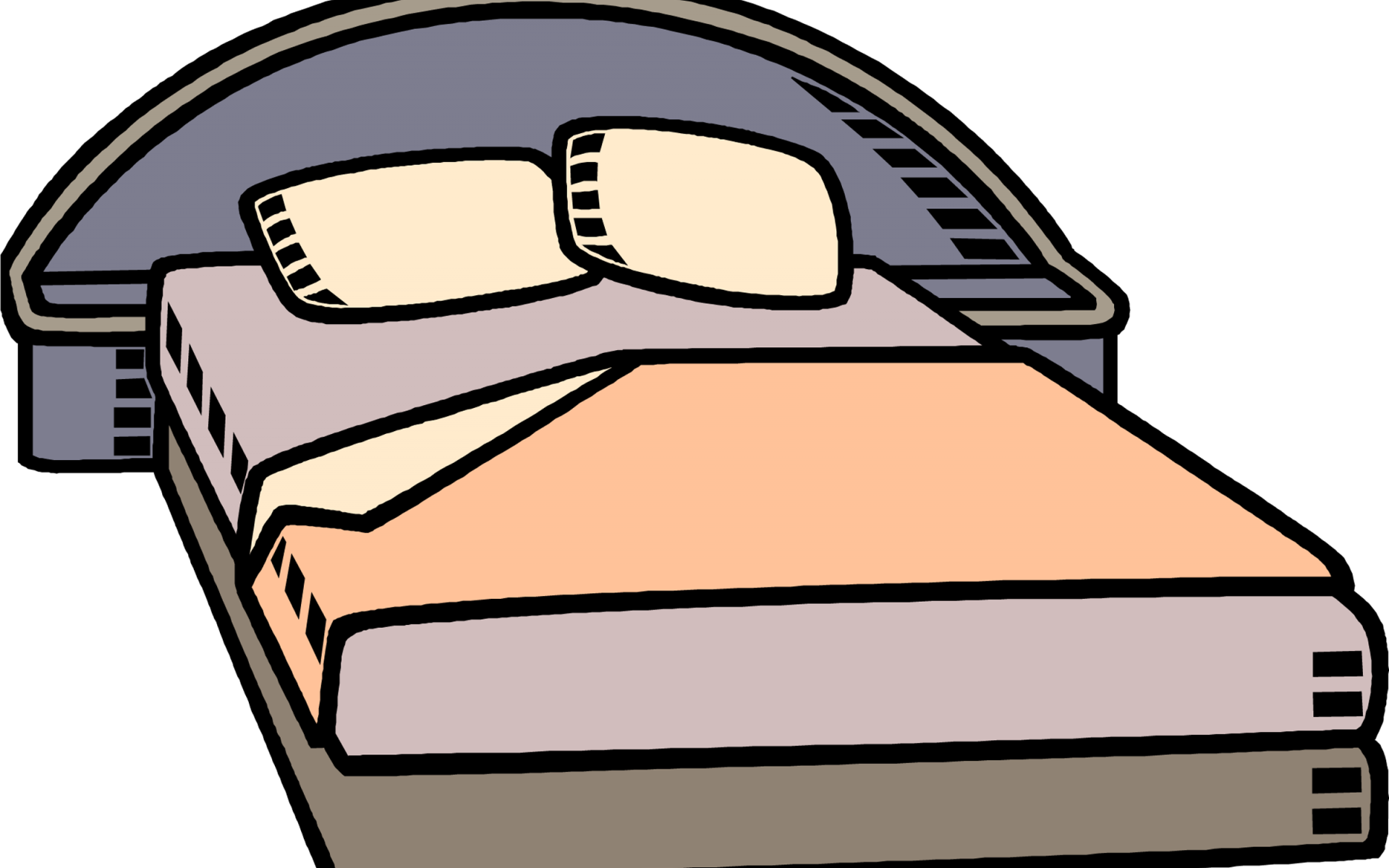 Clipart bed animated. Make x carwad net