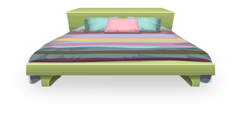 Clipart bed bedding. Bedroom png hd transparent