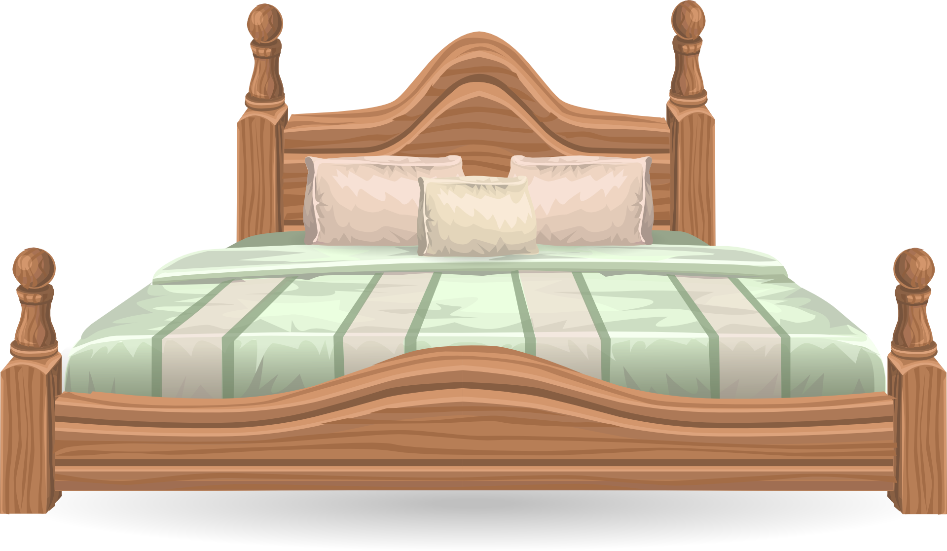 Night clipart night bed. Free bedroom furniture www