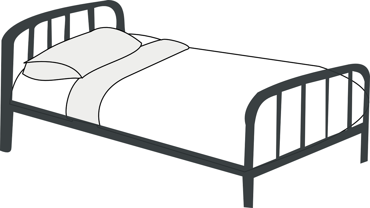 Google search storage cupboard. Clipart bed black and white