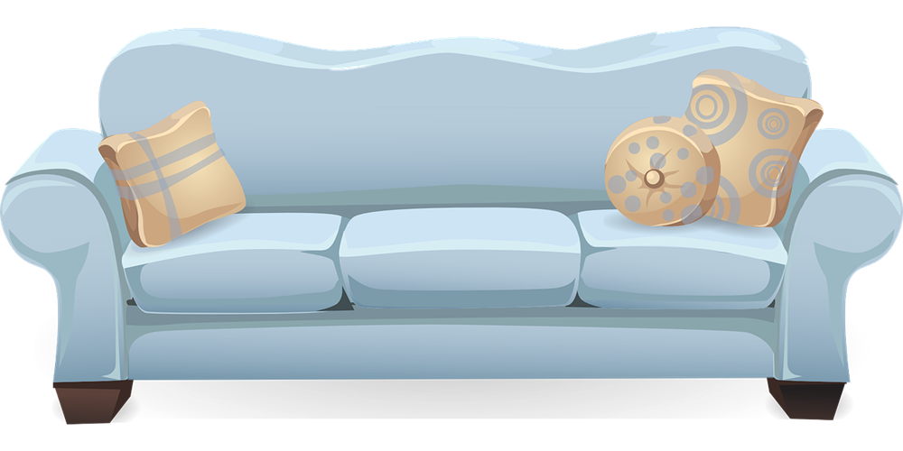 Sofa downloadclipartorg bed clip. Furniture clipart love seat
