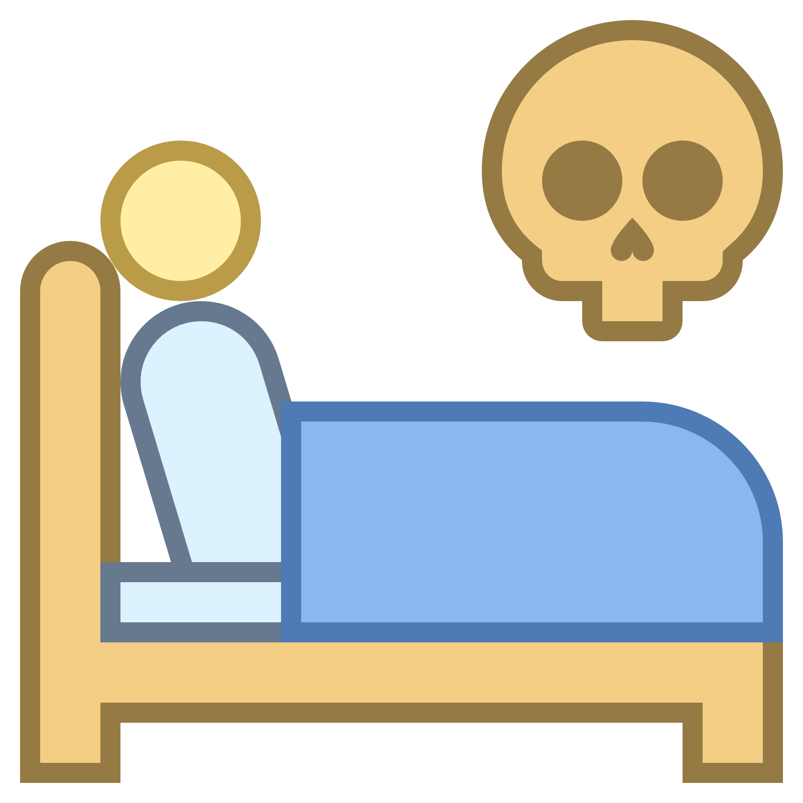 Clipart bed blue. To die collection in