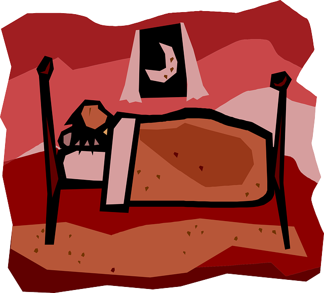 clipart sleeping habbit