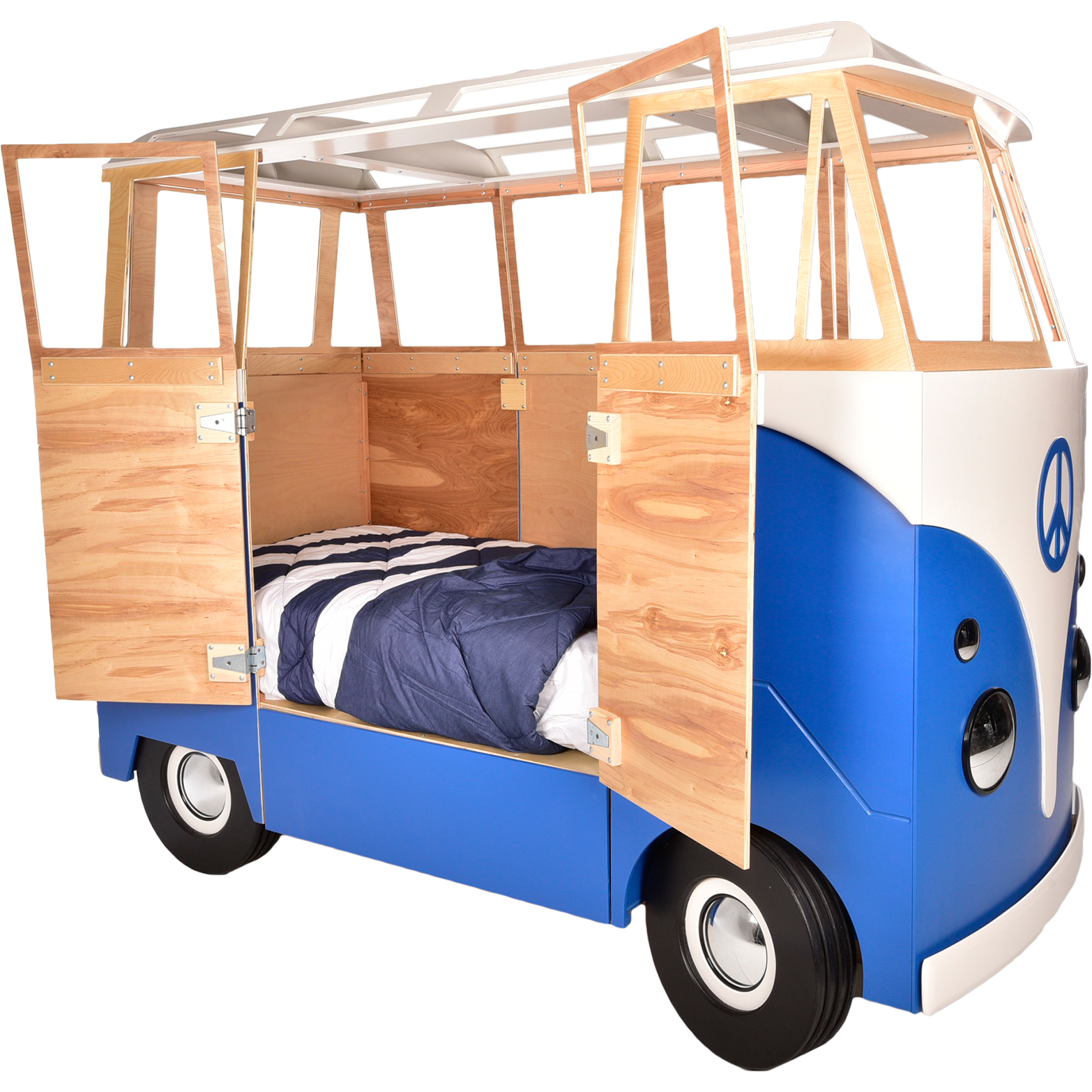 The leon bus by. Clipart bed childrens bed