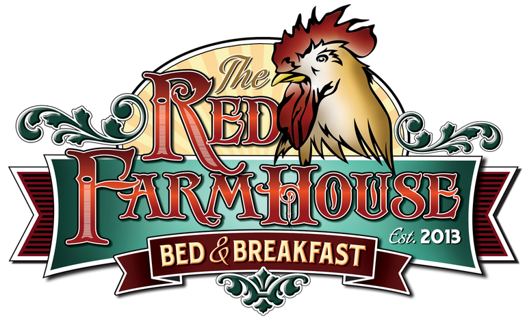 Farmhouse clipart barnhouse. The red bed breakfast