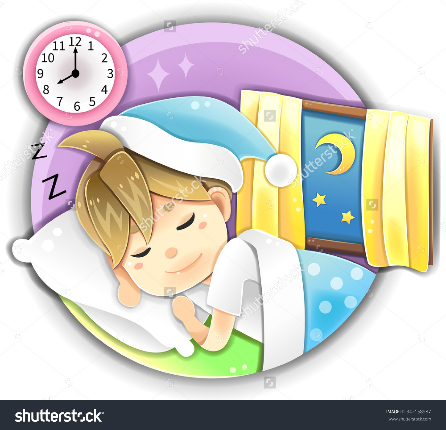 Go to . Clipart bed early