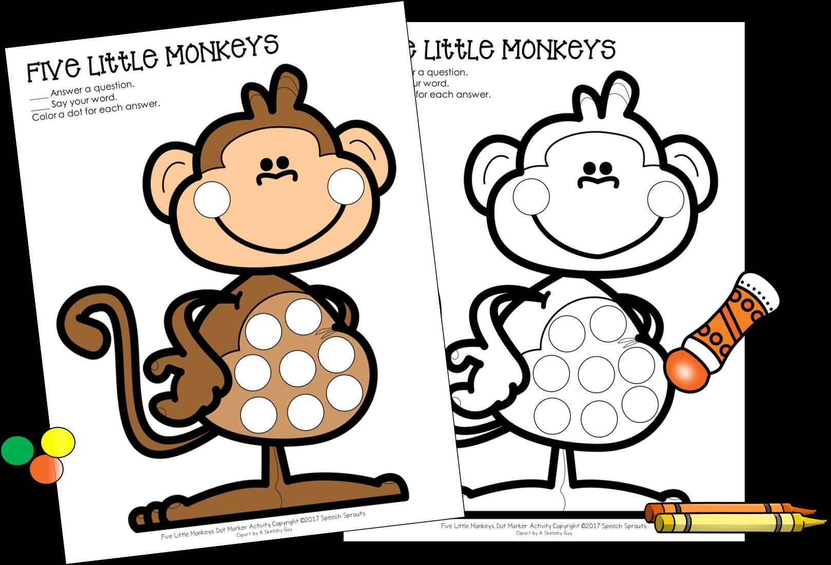 Clipart bed five little monkeys. Best ever books for