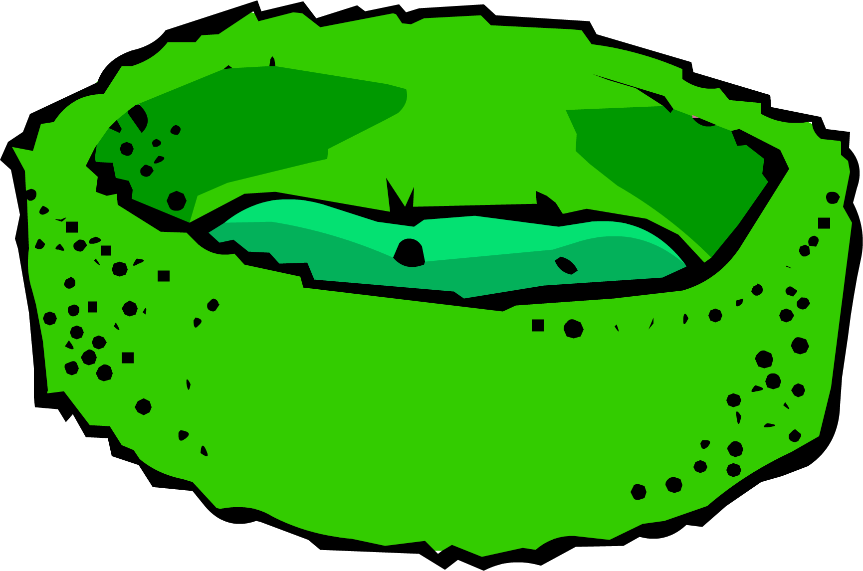 Club penguin wiki fandom. Clipart bed green bed