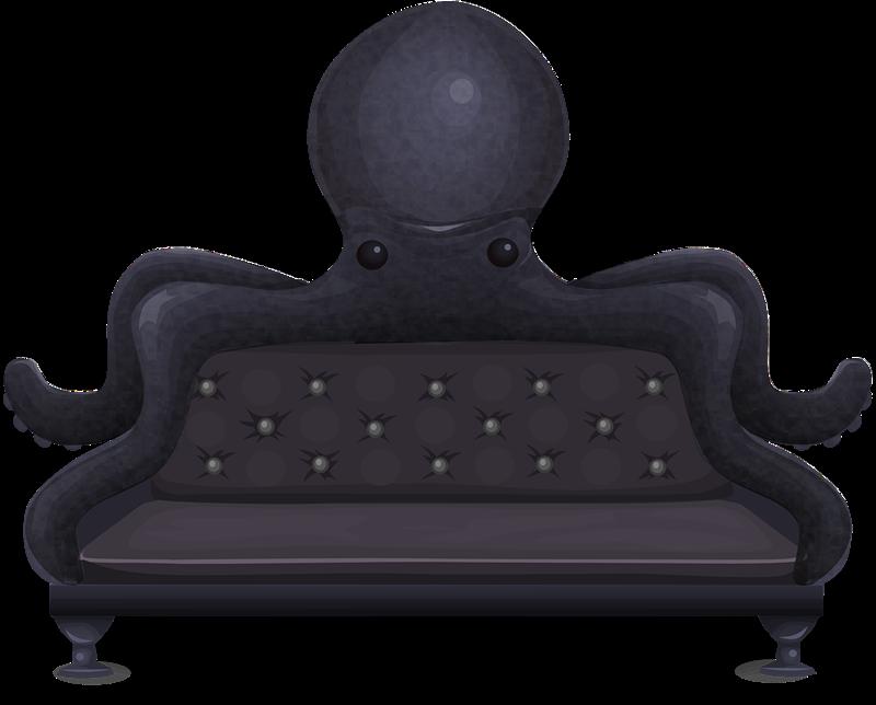 Furniture sofa pencil and. Clipart chair sat