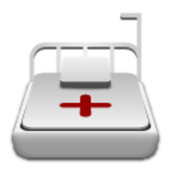 Clipart bed icon. Medical free images at