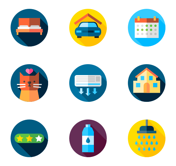 Clipart bed icon.  packs vector svg