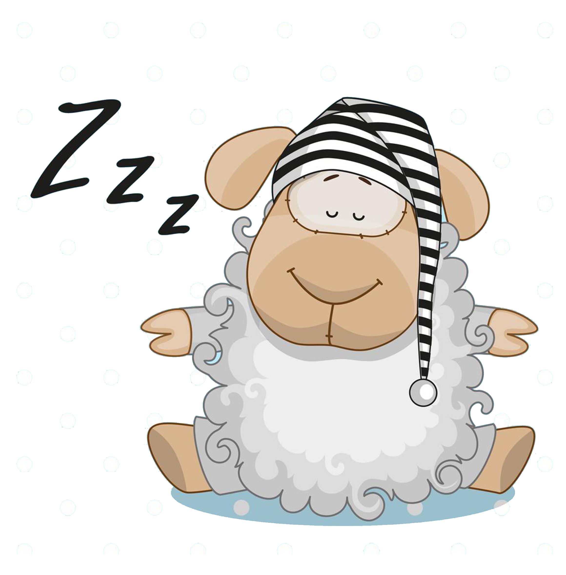 Frog sleep clip art. Clipart sheep sleeping