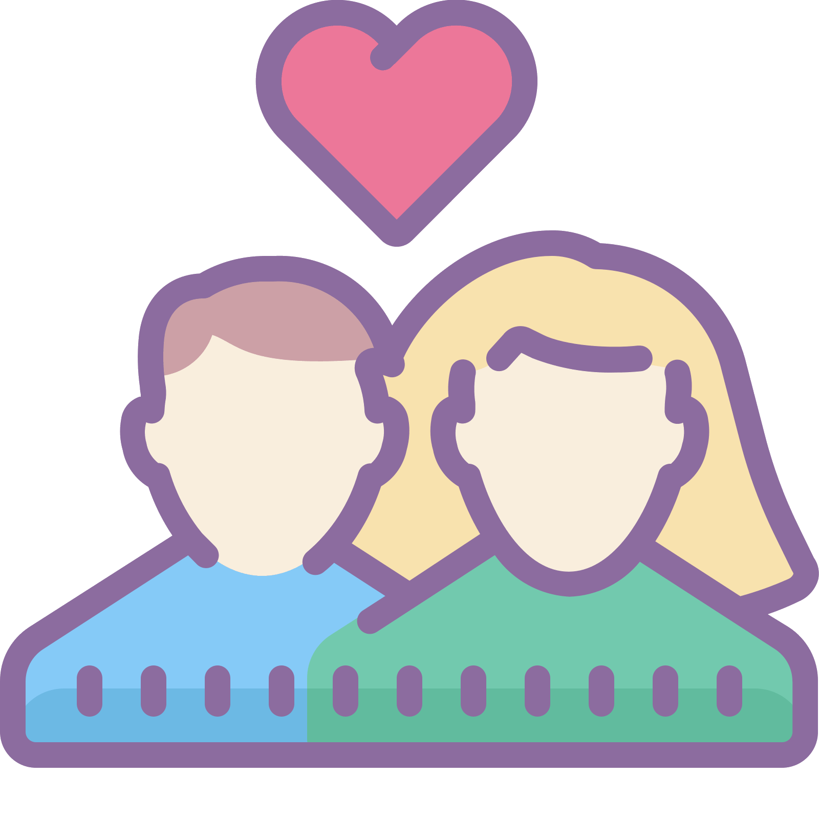 Clipart bed man woman.  couple png icon