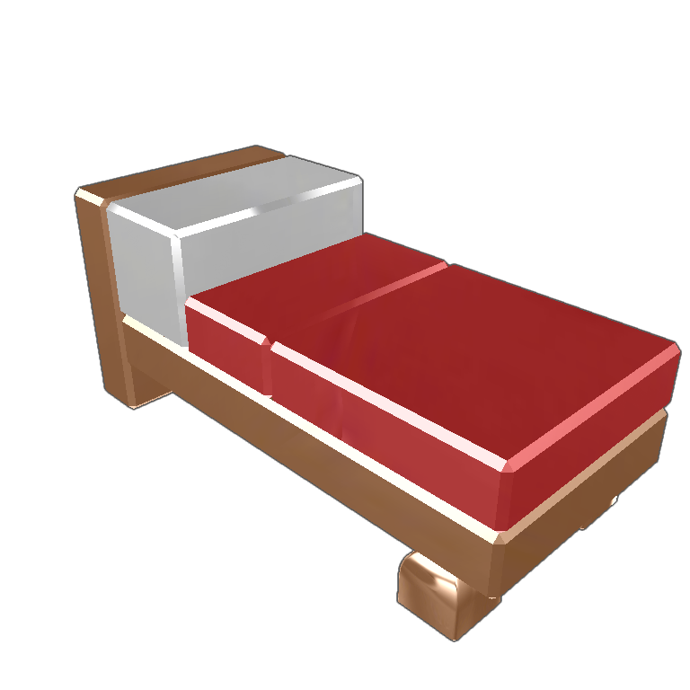 Clipart bed minecraft bed. Blocksworld please buy long