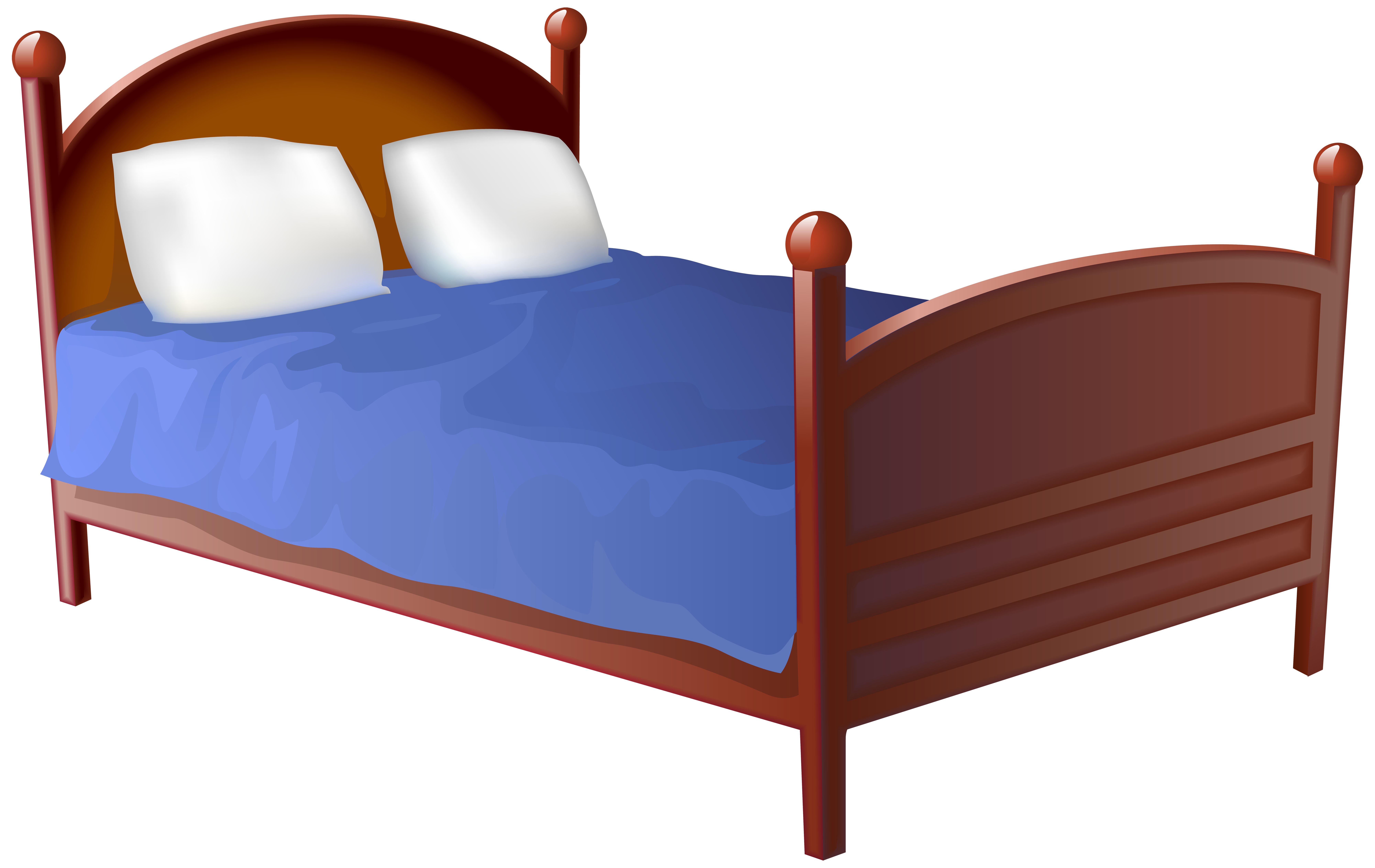 Furniture clipart bedrooom. Table clip art bed
