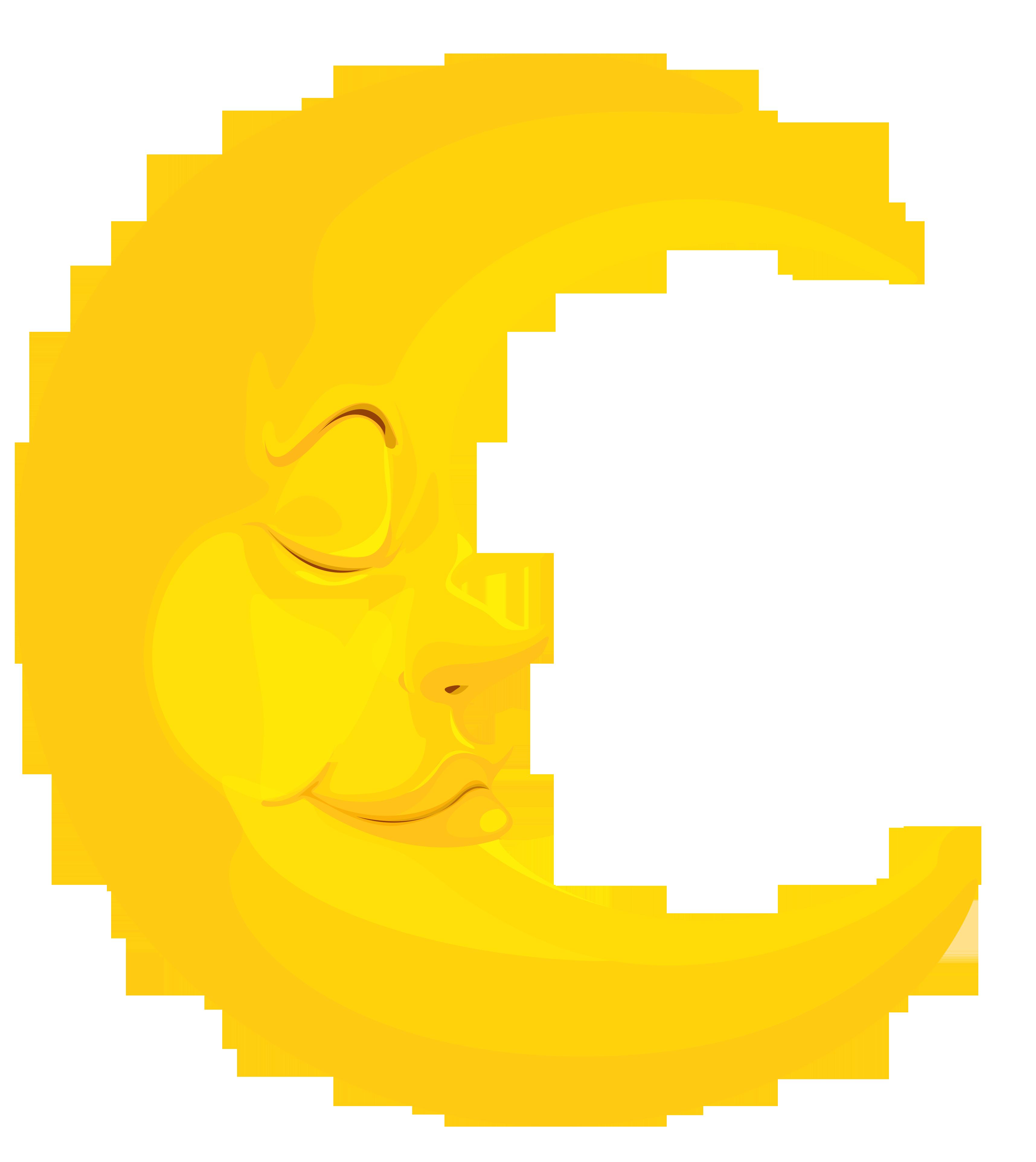 Hansen foundation. Clipart bed moon