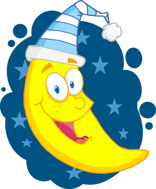 Clipart bed moon. Best free images pictures