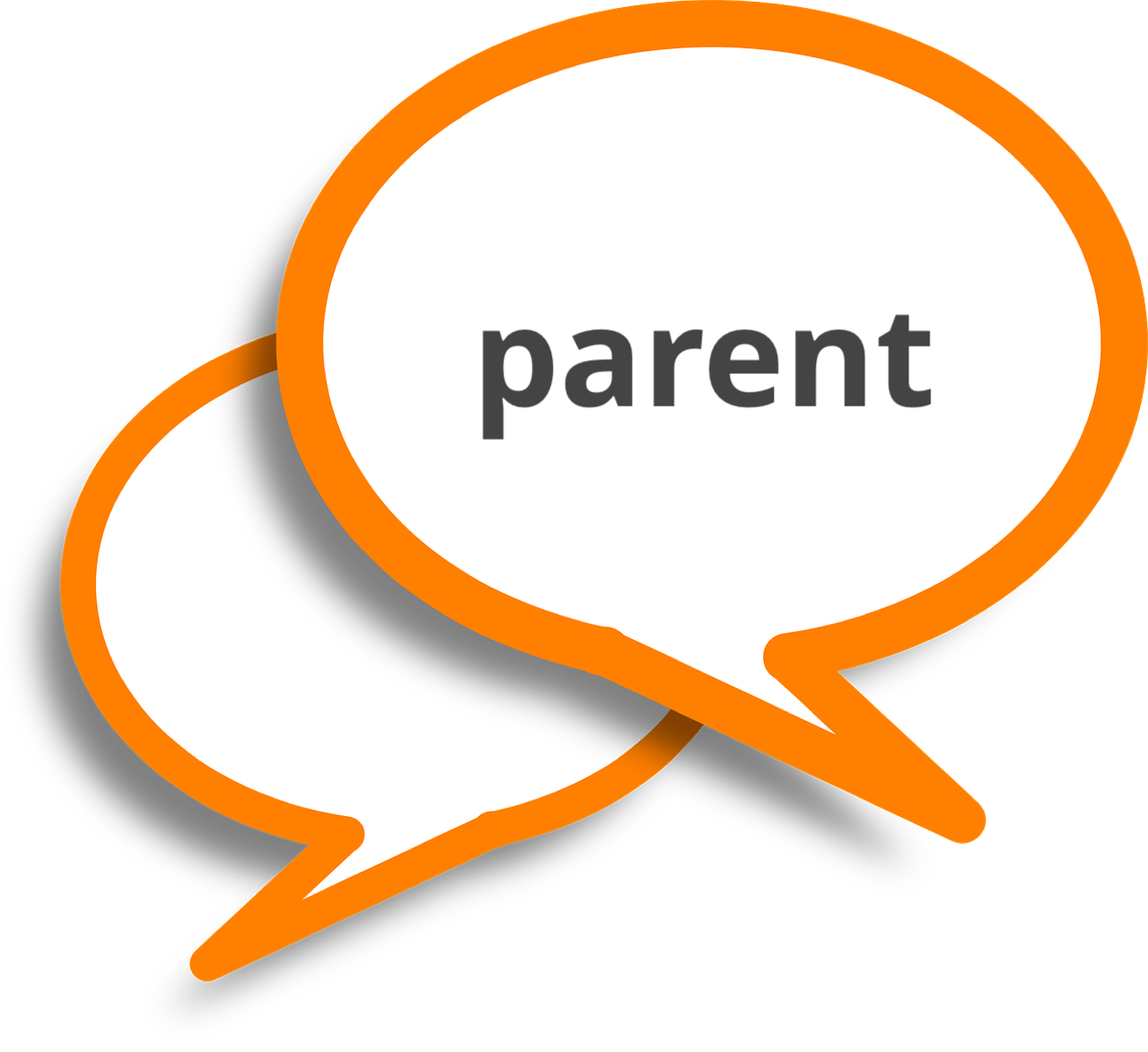 Knowledge clipart school culture. Script talking through technology