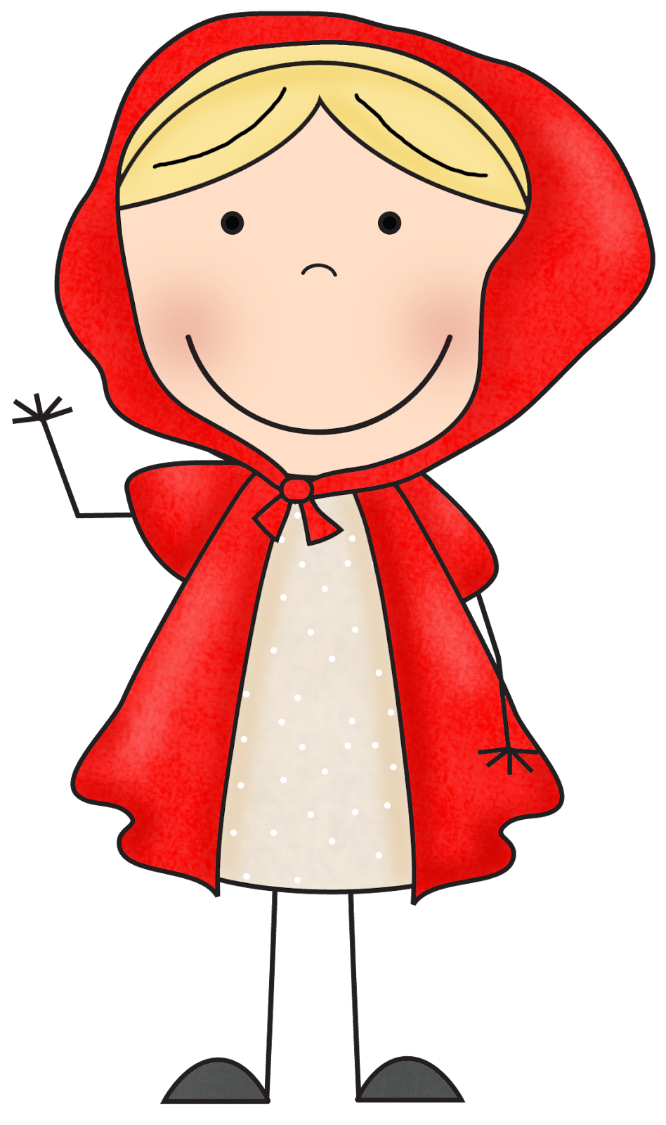 Pin by elena on. Clipart forest red riding hood