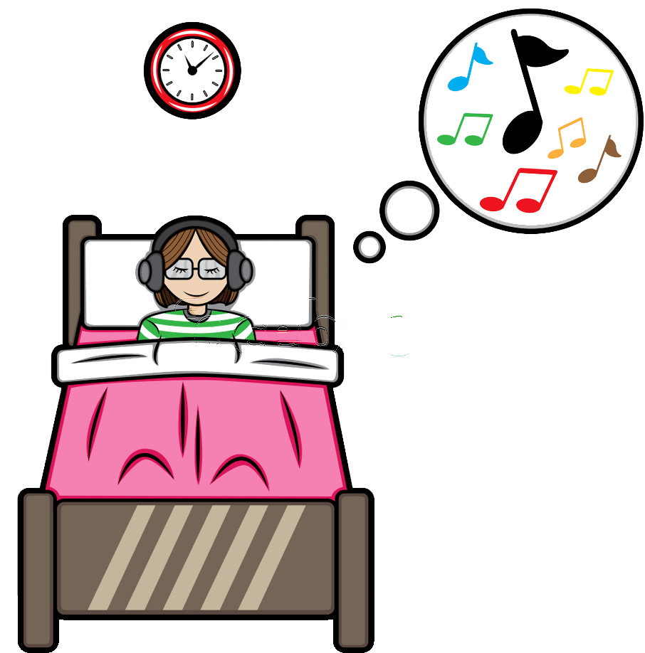 Clipart bed proper sleep. How i cure insomnia