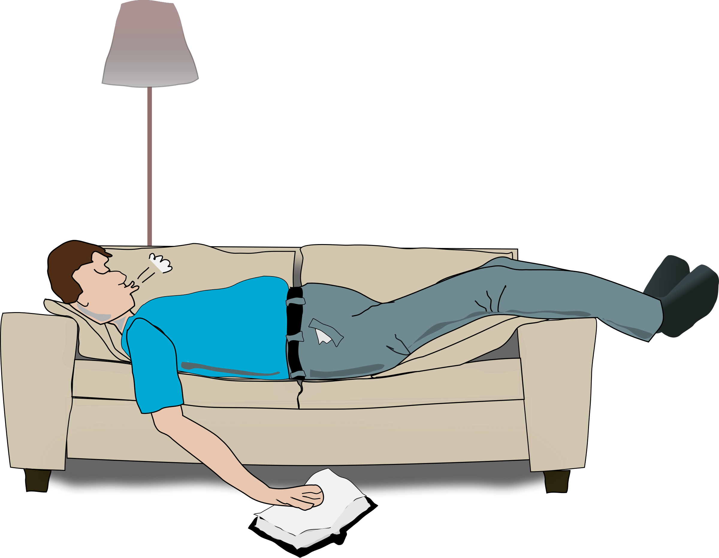 Sleeping by addon a. Exercise clipart sleep