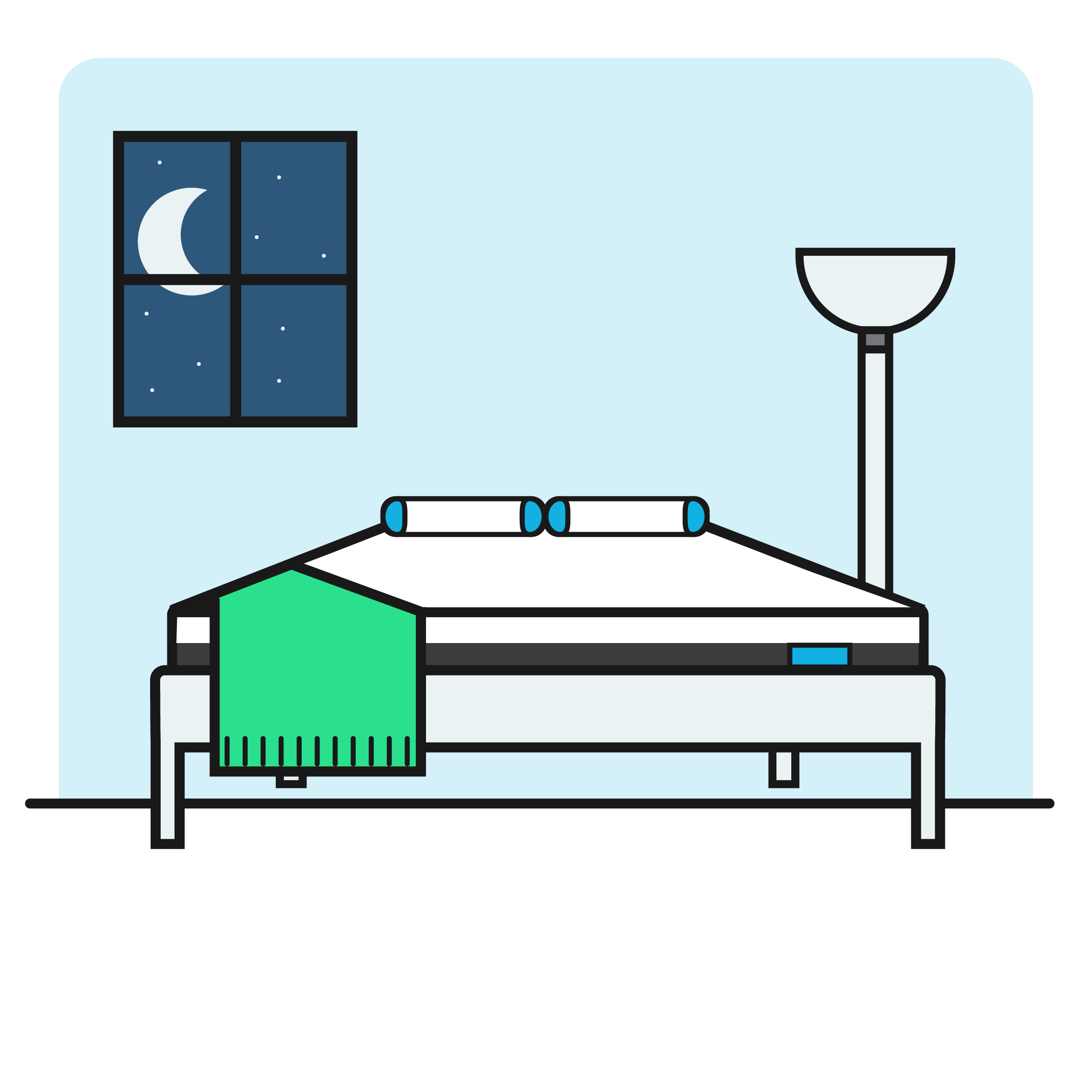 Clipart bed sleep early.  night trial bear