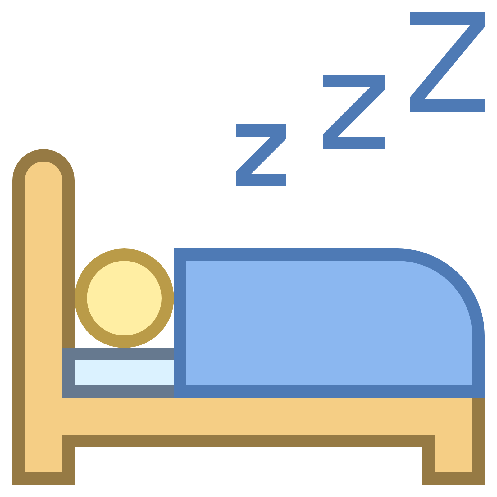 Sleeping pencil and in. Festival clipart icon