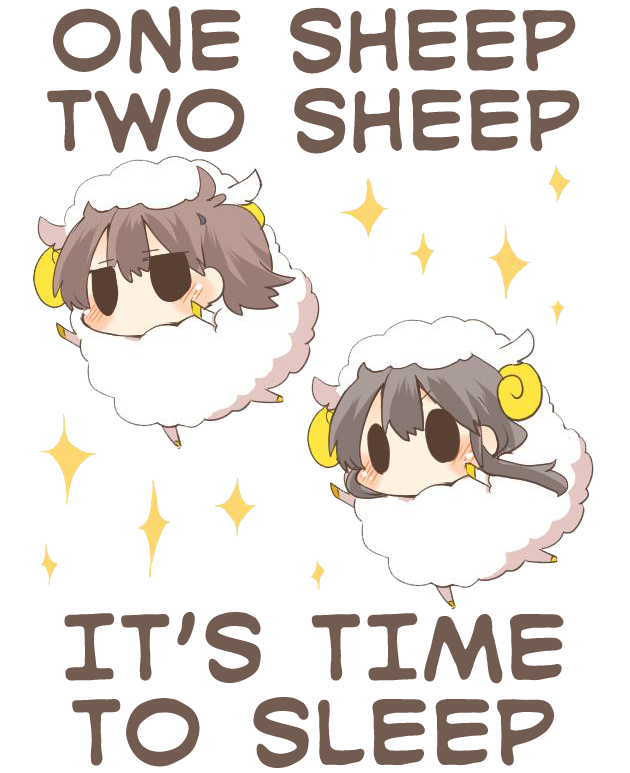 Clipart bed sleep early. One sheep two it