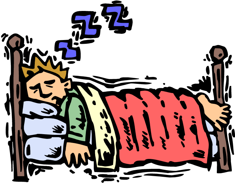 collection of late. Clipart bed sleep early