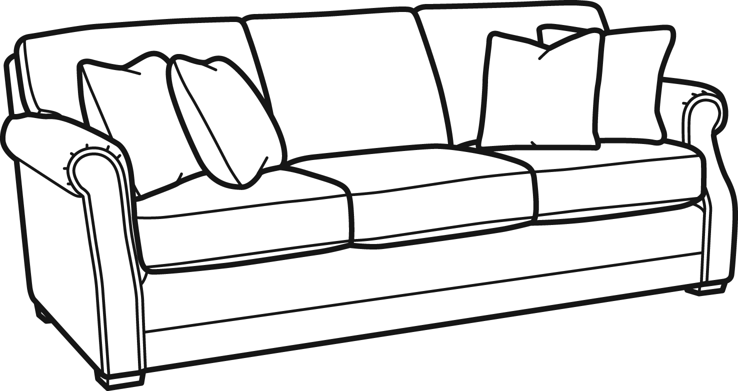 Couch clipart side view. Coburn flexsteel com share