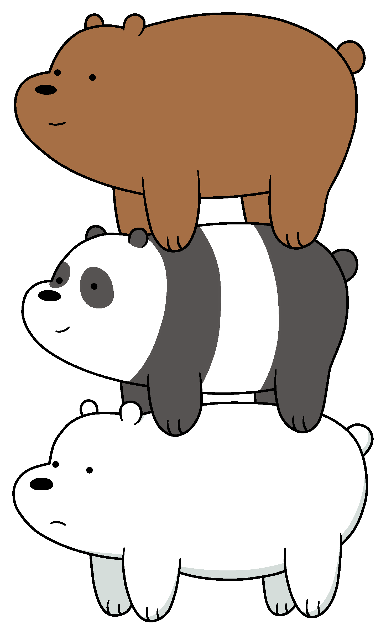 Clipart bed three bears. Bear stack we bare