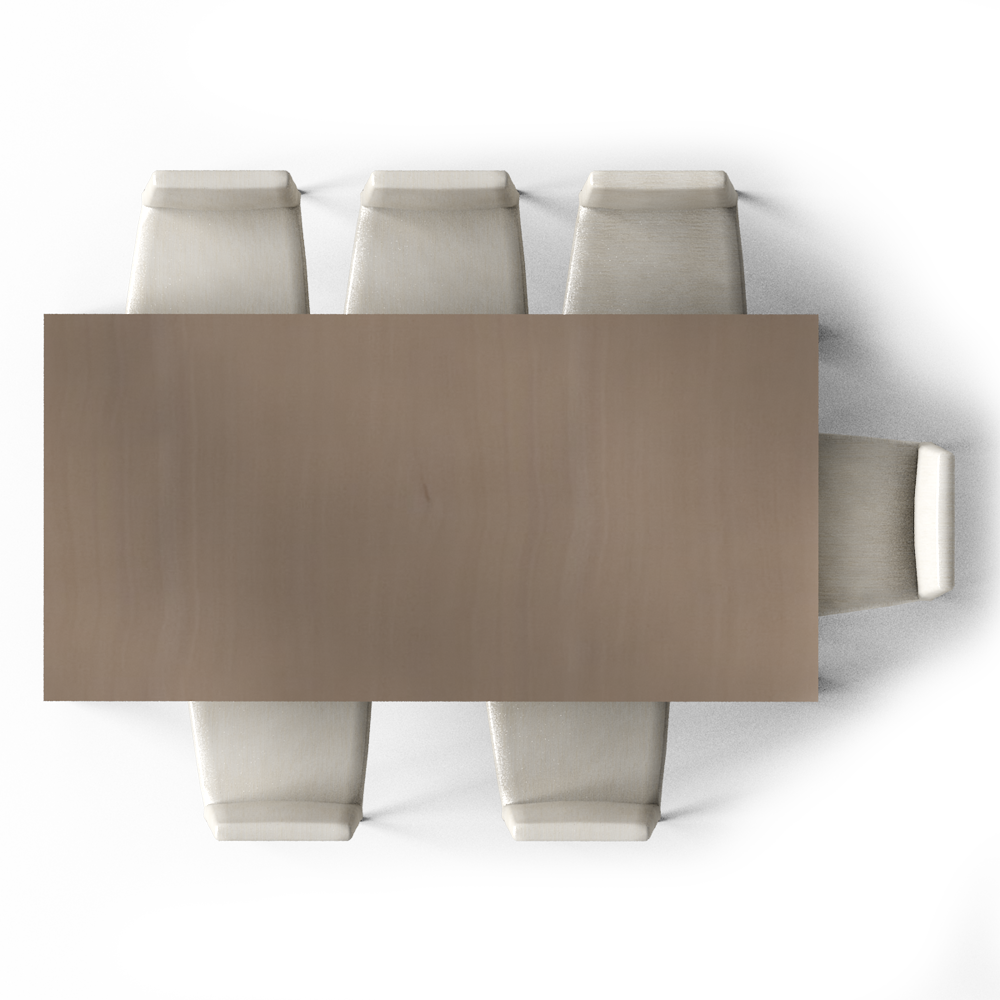 Markor dining table top. Couch clipart side view