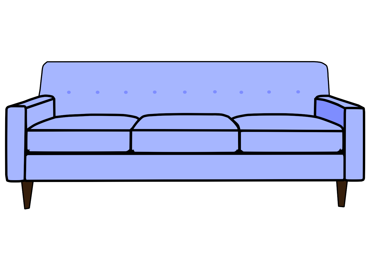 Sofa set top png. Clipart desk side view