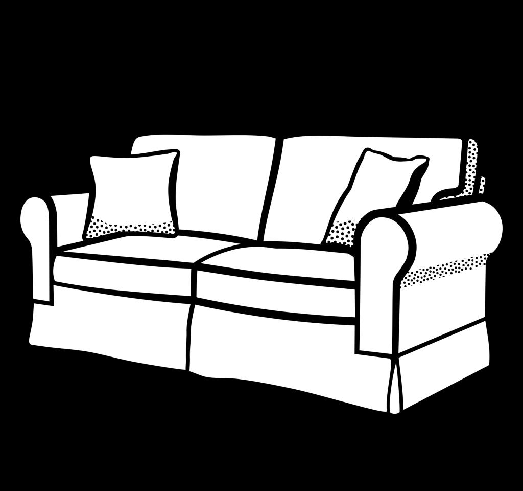 bedroom huge freebie. Furniture clipart black and white