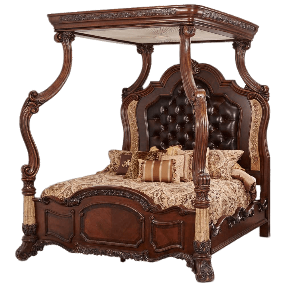 Heavy canopy transparent png. Clipart bed wooden bed