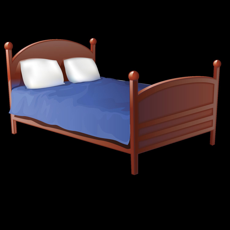 Bedroom frame clip art. Clipart bed wooden bed
