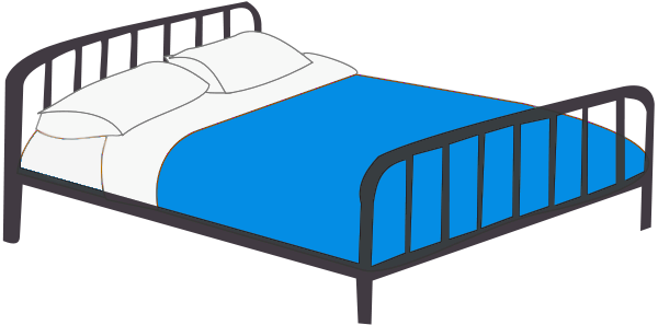 Clipart bed. Clip art free panda