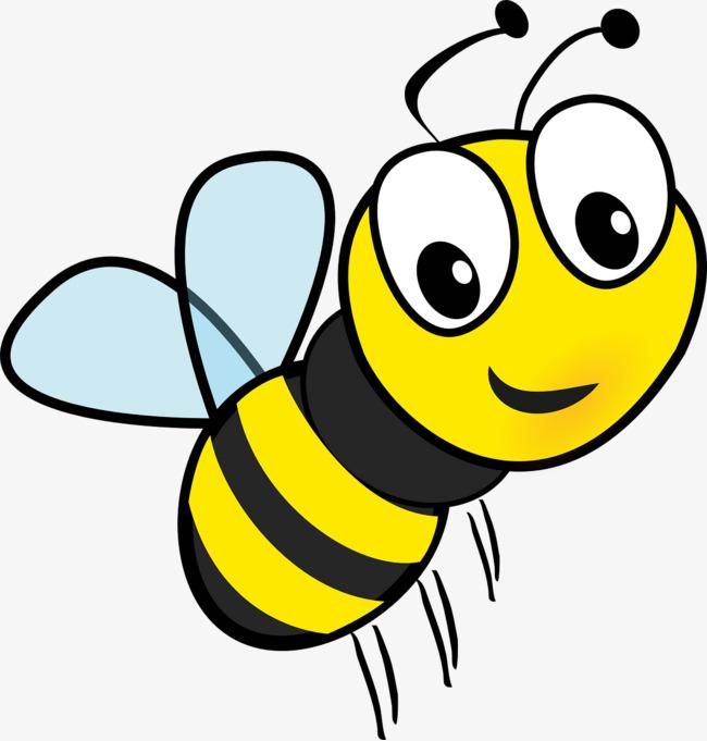 Flying cartoon flight png. Clipart bee