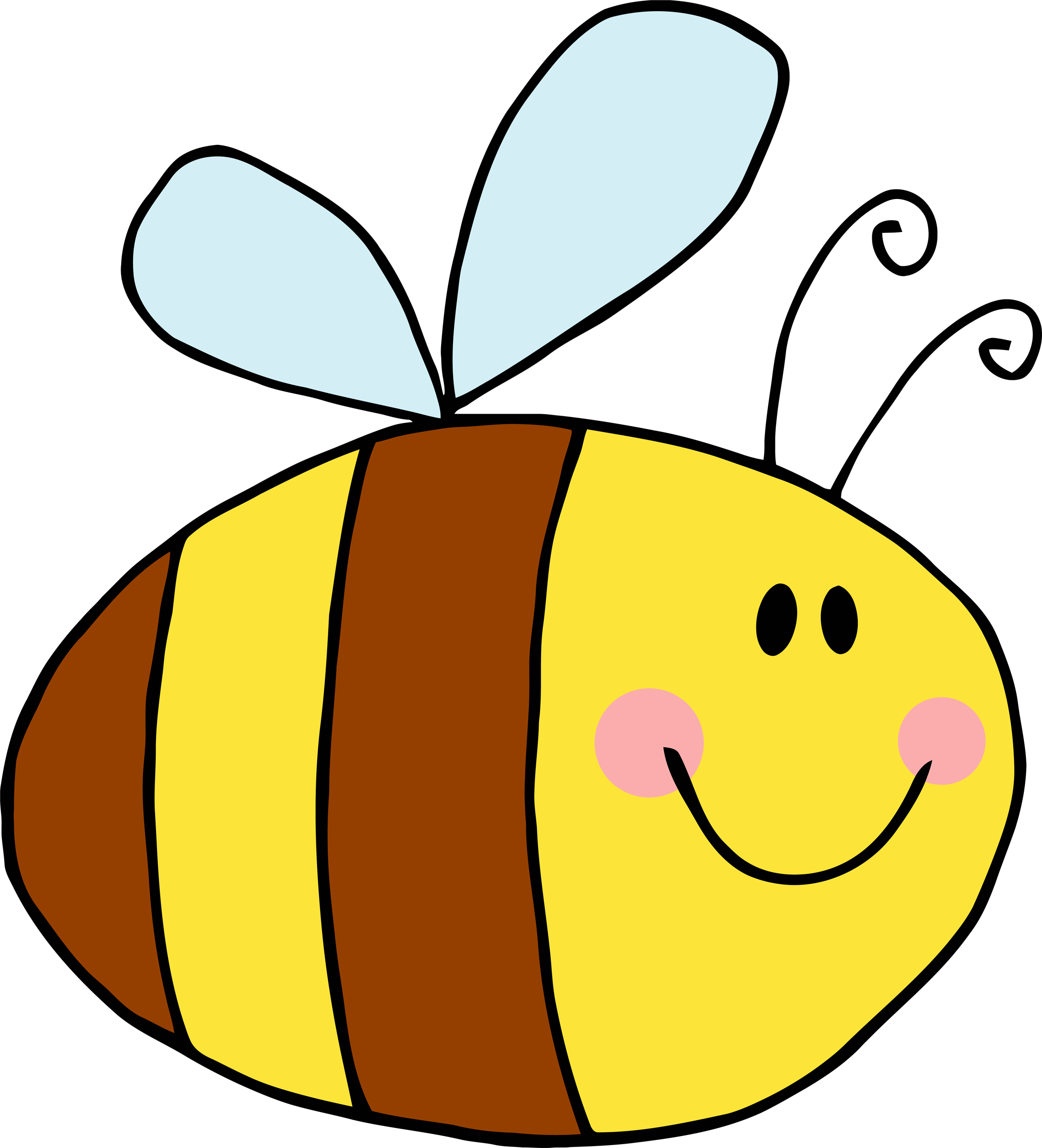 collection of bee. Game clipart camp game