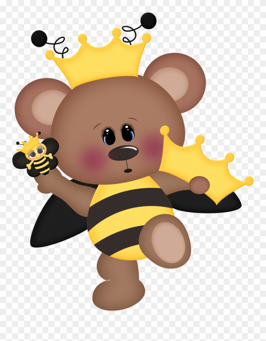 Minus pictures party buzzy. Clipart bee bear