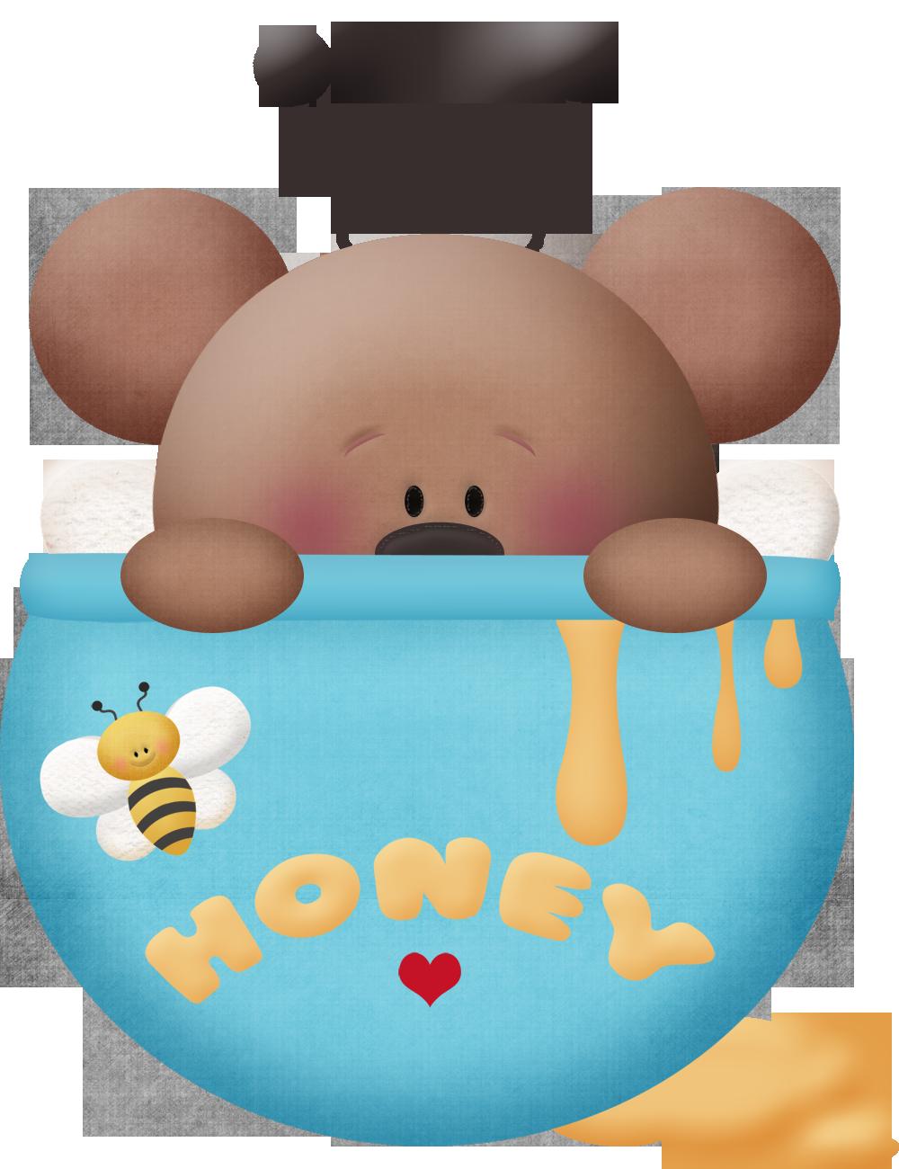Clipart bee bear. Homey teddy cluip art