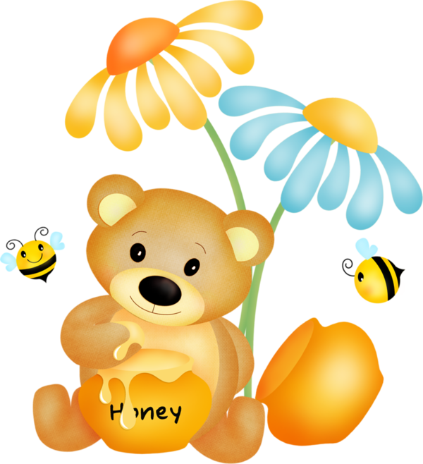 Plush png cubs tubes. Clipart bee bear