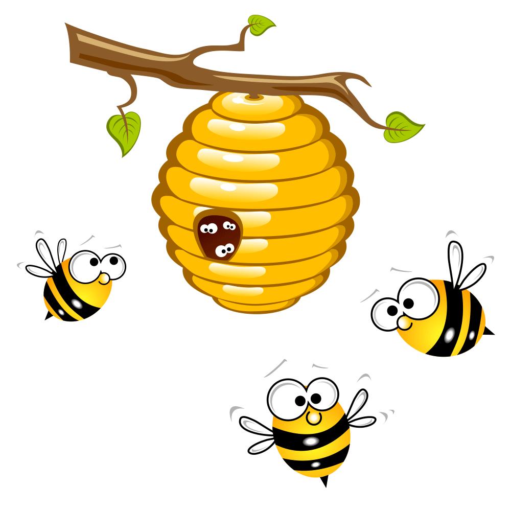Honey beehive bumblebee clip. Honeycomb clipart bumble bee