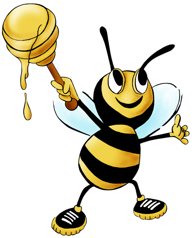 Cute love at getdrawings. Queen clipart honeybee